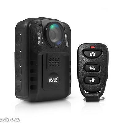 """2"""" LCD Security HD Body Camera Voice Video Recorder Night Vision Remote Control"""