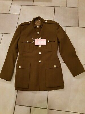 "Army tunic (used in WW1 play) c Chest 40"", Arm 25"", Length 31.5"""