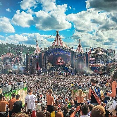 2 Tickets Tomorrowland 2019 -WE2- Full Madness Pass Magnificent Greens (Camping)