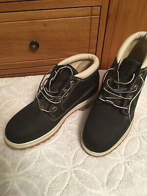 Timberland Ladies Black Suede Boots  Size 7 UK - 41 EU Never Worn Immaculate