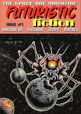 275 - FUTURISTIC FICTION #1 - Exciting tales of the future