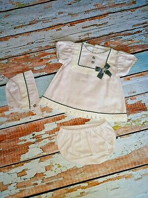 Baby Girls Absolutely Stunning Spanish  3 Piece Outfit Free Postage £21.00