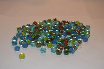a054eac41dc7d3 OVER 100 OLD Marbles Of Mixed Ages. Different Sizes And Condition ...