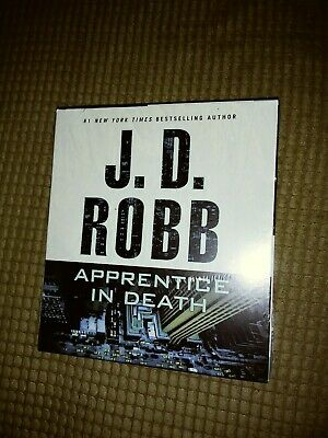 New AUDIO BOOK on CD APPRENTICE IN DEATH J.D.Robb