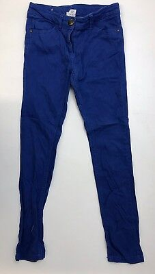 J1269 Next  Boys Blue Trousers Age 11 Years