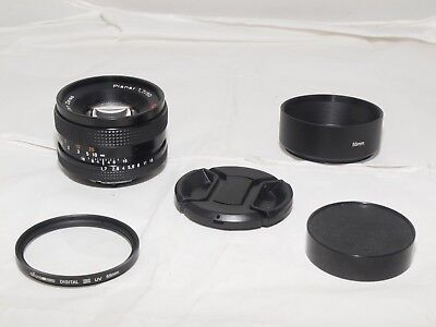 ZEISS Planar T 50mm f/1.7 MF Lens For Contax/Yashica mt. Sony a7RII, Fuji X-Pro2