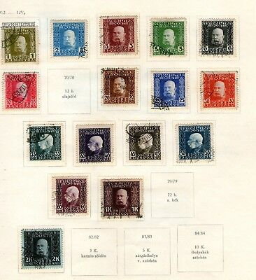 Early Bosnian /military-Post Stamps