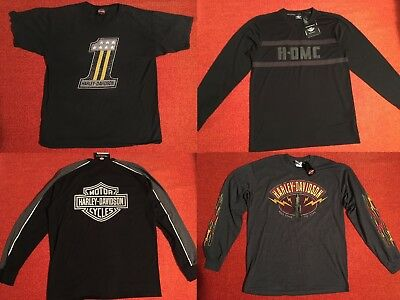 HARLEY DAVIDSON HD Men's Tops GENUINE MOTORCLOTHES Motorcycle NWT New w/ Tags