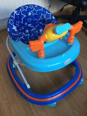 BABY LAND  Children First Steps Walker Push Along Bouncer With Music