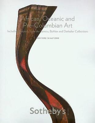 Sotheby's /// African Tribal Pre-Columbian Art Auction Catalog May 2008