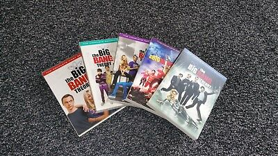 The Big Bang Theory: Seasons 1-5 in Very Good Condition