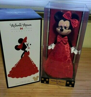 D23 Expo 2017 Disney Store Exclusive Minnie Mouse Signature Doll Red LE 523