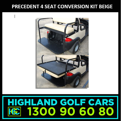 4 Seat Conversion Kit to Suit Club Car Precedent Golf Cart Beige