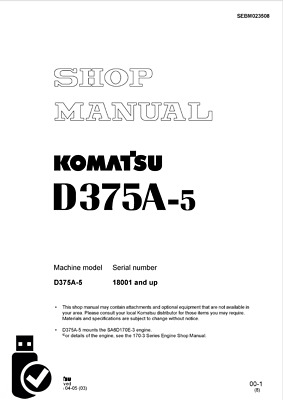 download komatsu d355a 1 bulldozer service repair shop manual