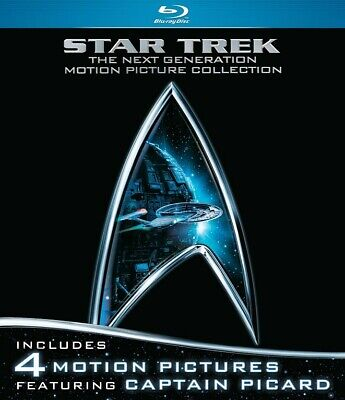 Star Trek: The Next Generation Movie Collection (Blu-Ray, 2012) - LIKE NEW