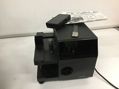 Vintage slide Projector - Royale Spokesman, double tier, fully tested