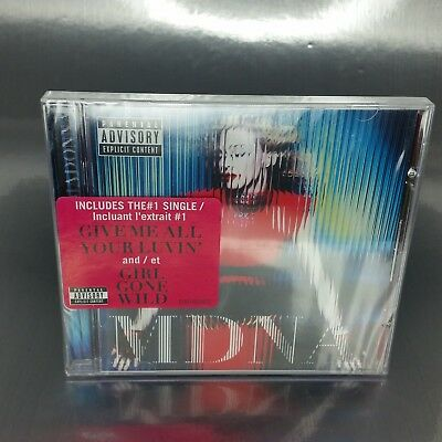 New MDNA  by Madonna music CD, 2012, Interscope, Canadian, Canada