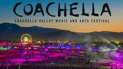 Coachella 2019 Weekend 2 Tickets With Shuttle Passes X2