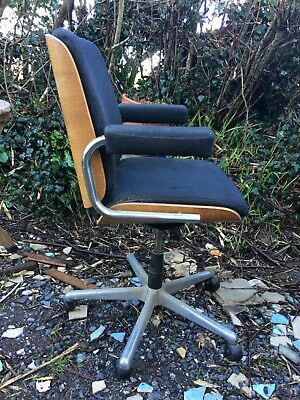 Vintage / Retro Giroflex Swivel Armchair. Office, Desk, Adjustable
