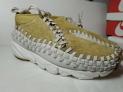 separation shoes c7537 05aae nike air footscape woven chukka uk9 us10 eur44 suede trainer free spiridon  leath