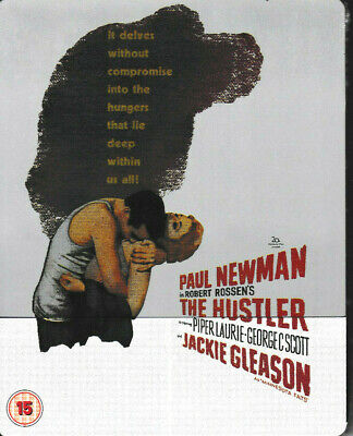 The Hustler - Limited Edition STEELBOOK - Blu Ray - Paul Newman