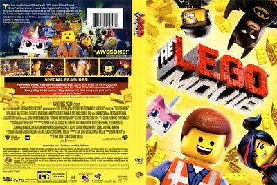 #16.0 Lot of 90 THE LEGO MOVIE Brand New DVDs FREE SHIPPING