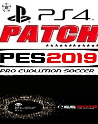 patch pes pro evolution soccer 2019 ps4  juve real    serie B  bundesliga ecc...