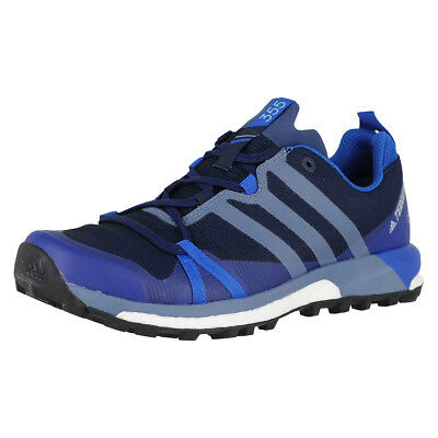 timeless design af03d ef0a2 Adidas Terrex Agravic Gtx Men Collegiate NavyRaw SteelBlue Mens Running  14M