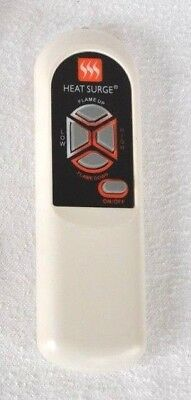 Brand New Heat Surge Electric Fireplace Heater Remote Control W