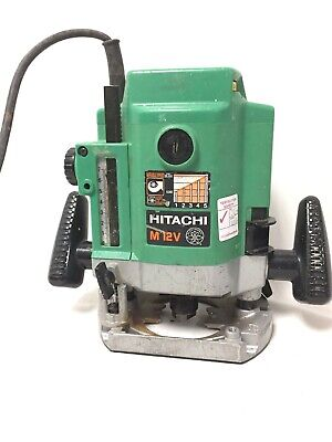 Hitachi M12VE Variable Speed Plunge Router With Case 240v