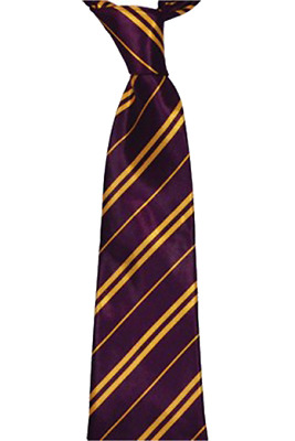 Boys Girls Kids Maroon Yellow Griffindor Tie Hogwart World Book Week Day