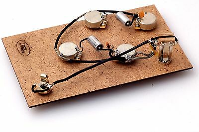 """Prewired Assembly fits Gibson® ES /Modern Mojo PIO .022uf Caps/CTS """"TVT"""" Pots"""