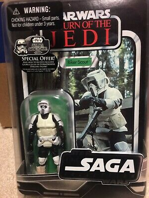 Star Wars 2006 Vintage Saga Collection Biker Scout Action Figure