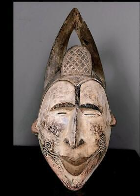 Outstanding Tribal Idoma   Mask  with Horns      --  Nigeria