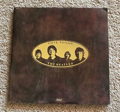 THE BEATLES - LOVE SONGS 2LP Vinyl SKBL 11711 - 1977 Gatefold Cover Booklet