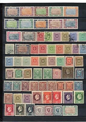 Montenegro, Lot Of Mh & Used Stamps, 2 Pages