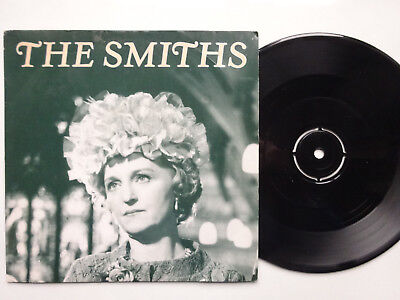 "THE SMITHS I Started Something - RARE Black Label Promo/Mispress 1987 7"" Single"