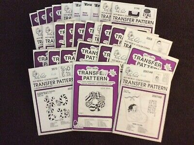 30 Pretty Punch Embroidery Patterns Christmas Lot #2