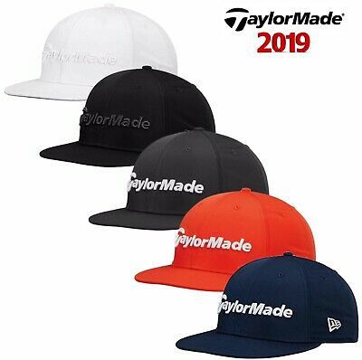 2b37f9d5830 TaylorMade 2019 Mens New Era 9Fifty performance Snapback Golf Cap Hat