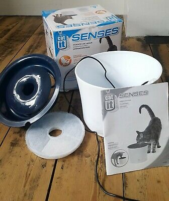 CatIt Senses Pet Drinking Fountain 3 Litre Water Drinking System for Cats & Dogs