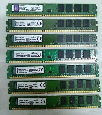 Kingston 8GB KVR16N11/8 DDR3 1600 2RX8 PC3-12800 240pin Desktop Memory  RAM