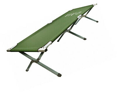VIVO Green Camping Cot, Portable Fold up Bed, Military Style Cot, Carrying Bag