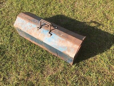 """Vintage BDS long Coffin style Retro Tool Box 24"""" Long"""