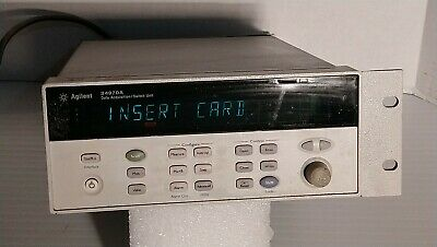 Agilent HP 34970A Data Aquisition/Switch Unit