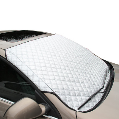 FREESOO Car Windscreen Frost Cover Snow Cover Windshield Ice Cover Dust Sun Time