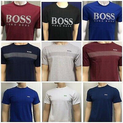 Hugo Boss Short Sleeve  T-Shirt Regular Fit 3 Different Design New With Tag