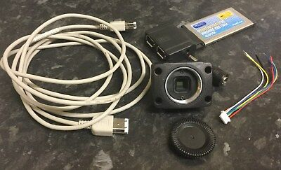 Point Grey FireFly Machine Vision Colour Camera Kit, Inc HQ Cable & Express card