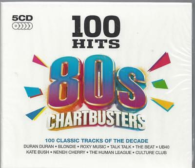 100 Hits 80s Chartbusters 5CD set New and Sealed