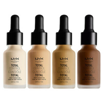 NYX Total Control Drop Foundation 13mL - Primer & 7 Shades Available