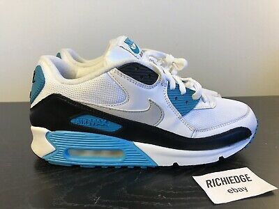 NIKE AIR MAX 90 LASER BLUE 2010 SIZE 9 100% AUTHENTIC